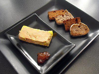 Foie gras express en terrine