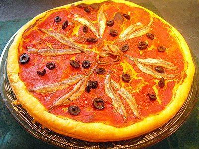 Tartes fines façon pizza