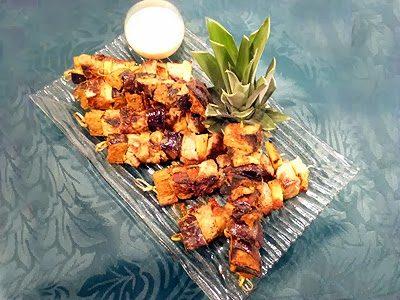 Brochettes de filet mignon créoles