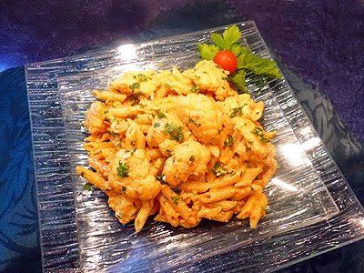Curry de pâtes au chou-fleur