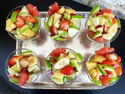 Salade de fruits à la Manzana Verde