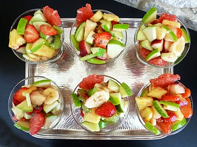 Recettes salades de fruits for Ver de la salade