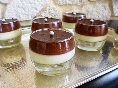 Panna Cotta Vanille Chocolat