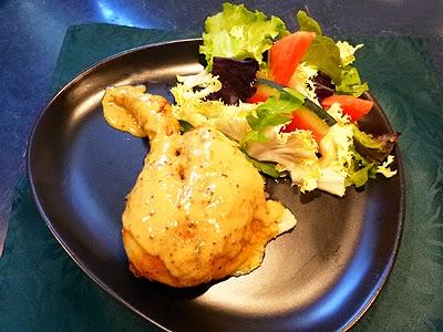 Poulet au four aux deux moutardes la recette facile par - Cuisiner le lapin au four ...