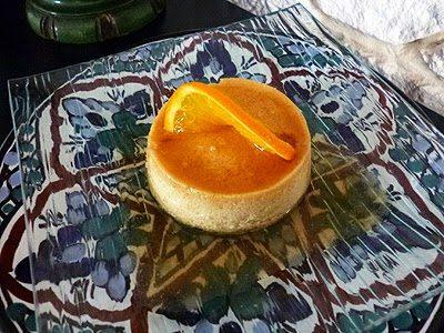 Crème renversée a l'orange