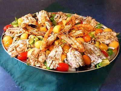 Salade aux sardines fraîches
