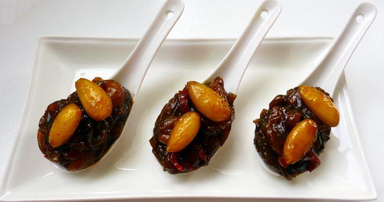 Chutney aux abricots