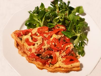 Clafoutis de tomates