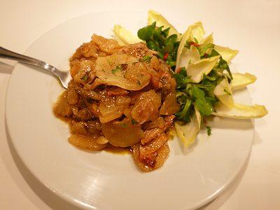 Pommes de terre au foie gras