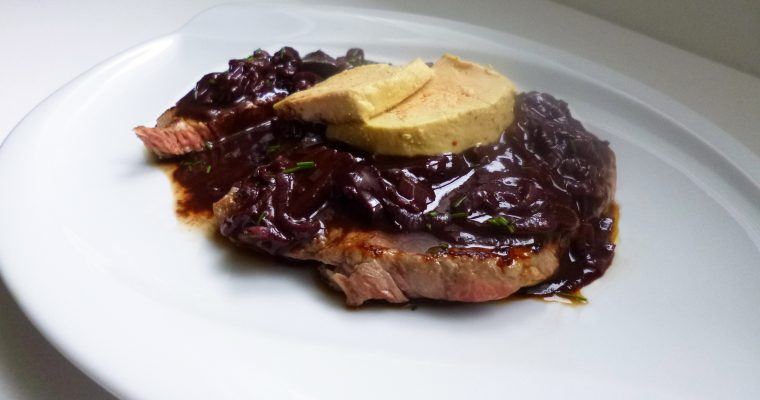 Steak sauce au vin