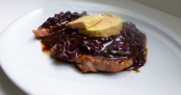 Steak sauce au vin