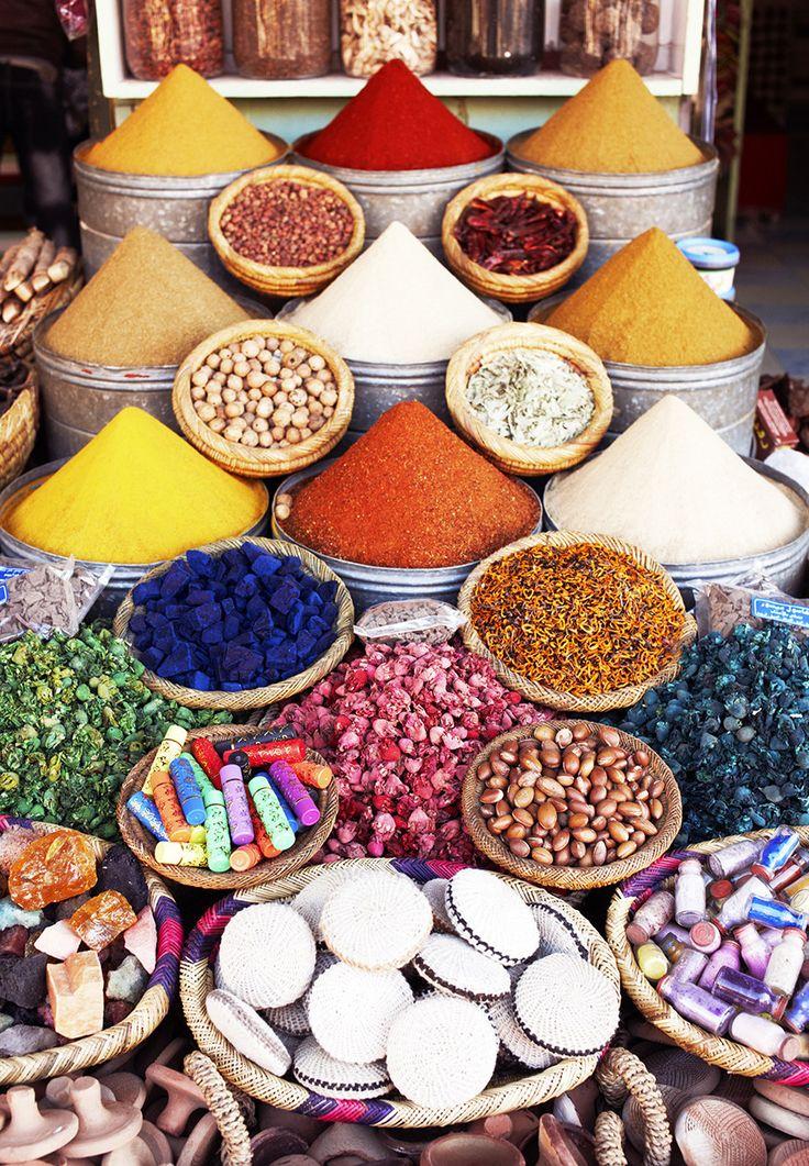 Listes Des épices : Les marchés à épices plus célèbres dans le monde