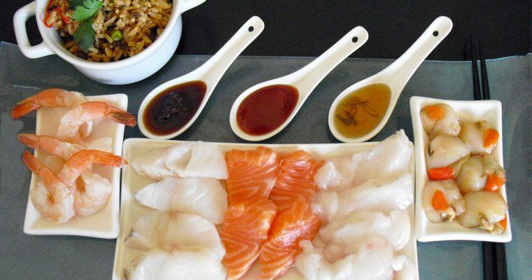 Fondue japonaise facile au poisson