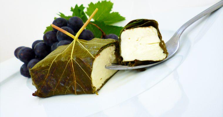 Délice de Mussy en feuilles de vigne