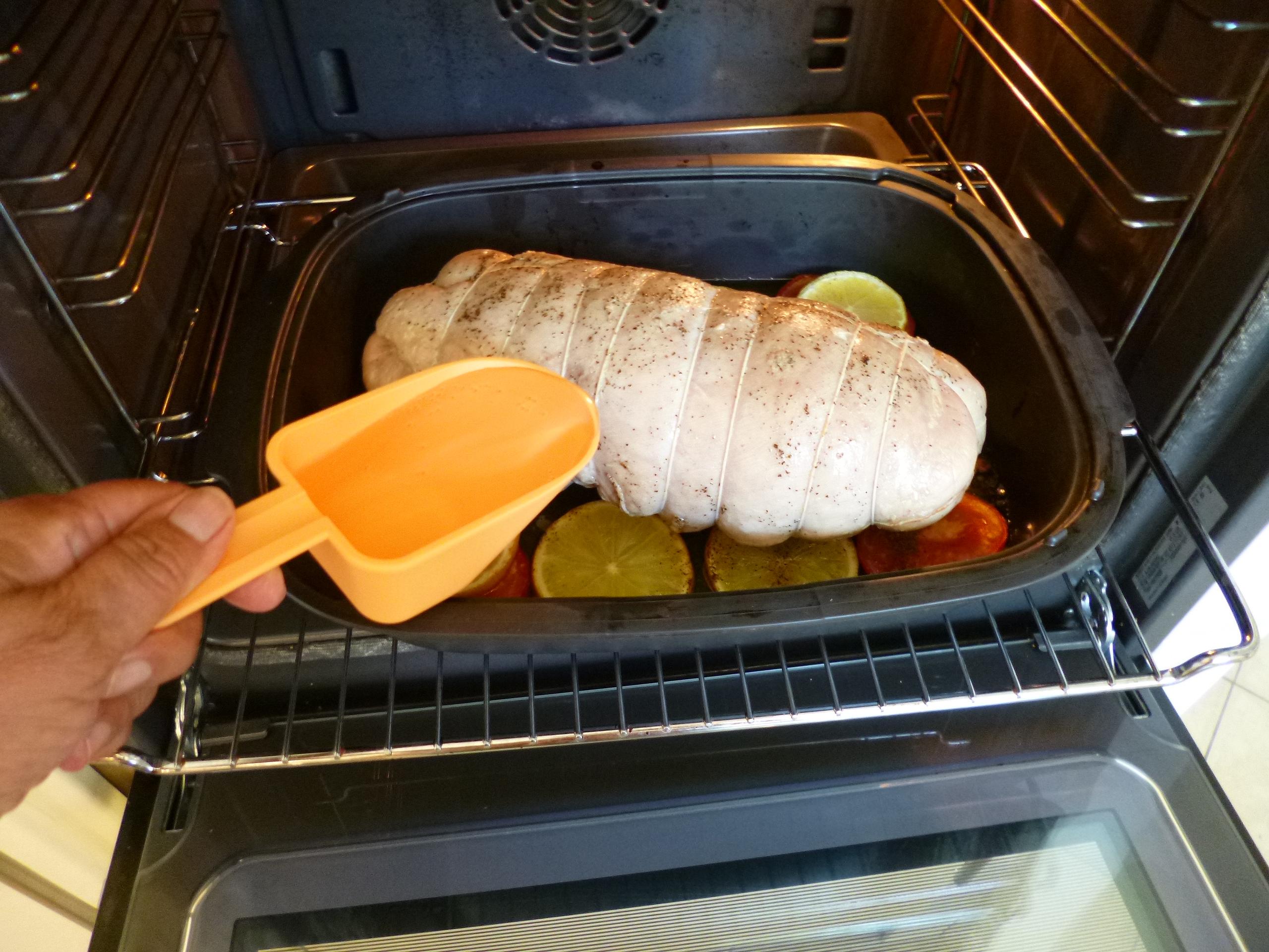 R ti de dinde congel temps de cuisson la recette facile par toqu s 2 cuisine - Temps de cuisson marron au four ...