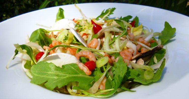 Salade de fenouil aux crevettes