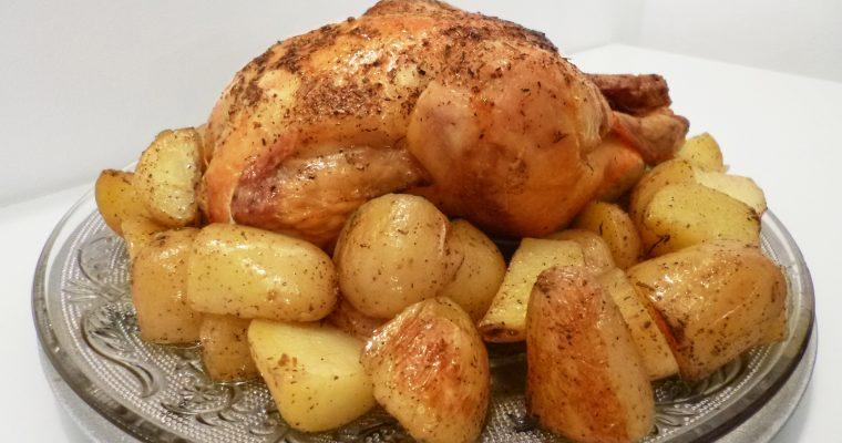 Poulet congelé, temps de cuisson