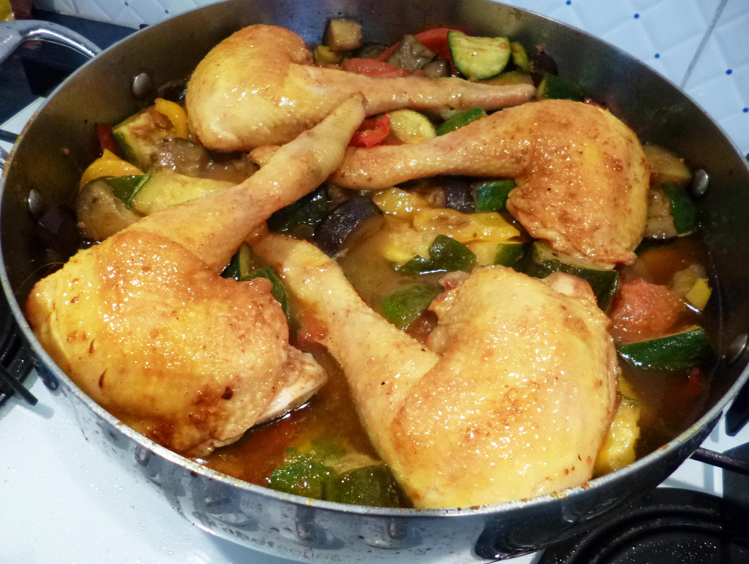 Poulet l 39 orientale la recette facile par toqu s 2 cuisine - Cuisine orientale facile ...
