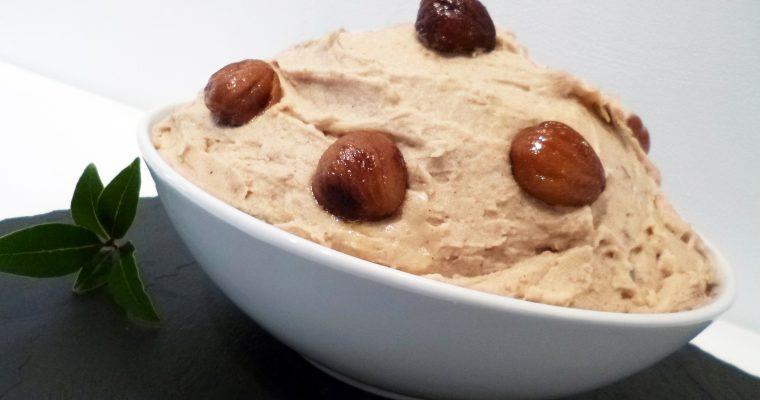 Purée de pommes de terre aux marrons