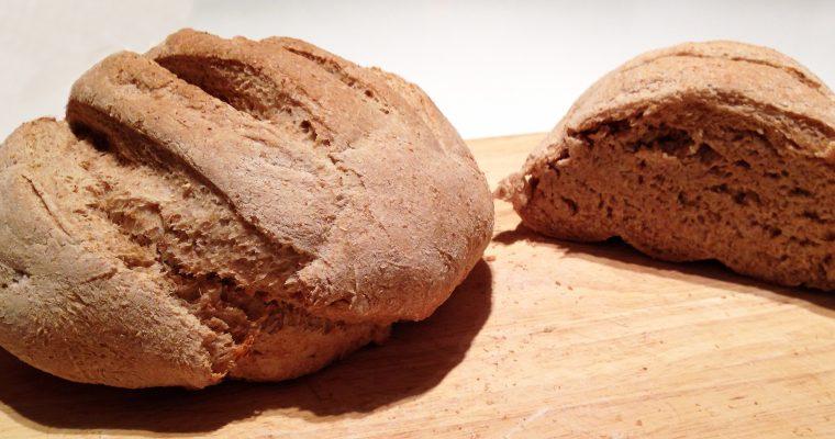 Pain à la farine intégrale