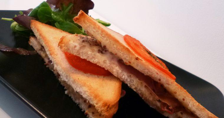 Croque-Monsieur sans fromage