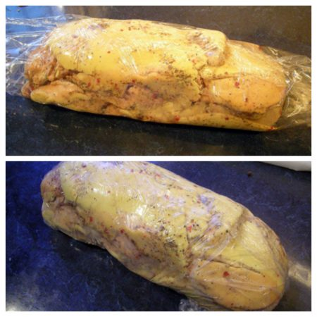 Foie gras sans cuisson la recette facile par toqu s 2 - Foie gras au sel sans cuisson ...