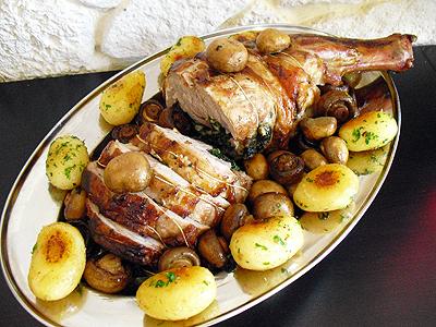 Epaule d 39 agneau farcie la recette facile par toqu s 2 cuisine - Cuisiner epaule d agneau ...