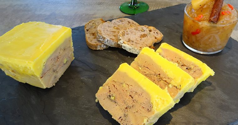 Foie gras au Calvados