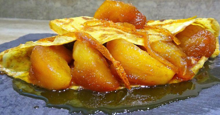 Crêpes pommes caramel