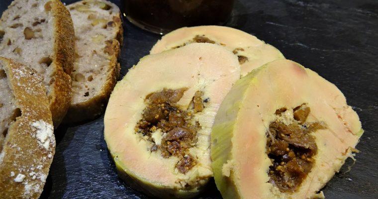Foie gras farci aux figues