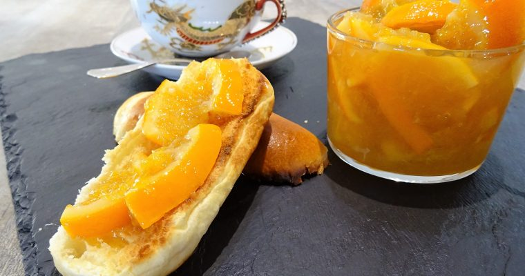 Marmelade d'oranges douces