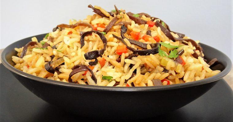 Riz thaï au wok