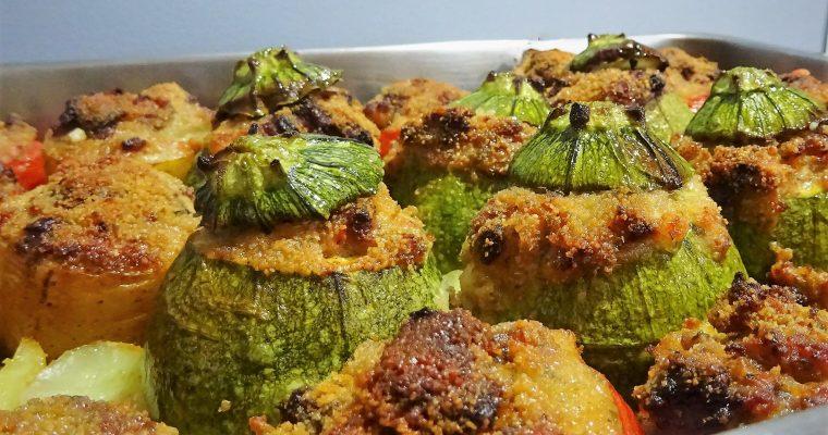 Légumes farcis à la chair à saucisses
